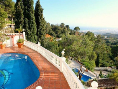 Mijas, Fabulous villa for sale in Mijas with panoramic coastal views