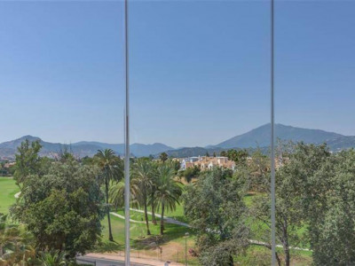 San Pedro de Alcantara, Duplex penthouse apartment for sale in Guadalmina Alta with views of the Golf course