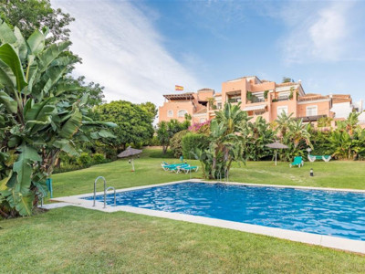 San Pedro de Alcantara, Beautiful garden apartment for sale in Guadalmina Alta in San Pedro de Alacantara