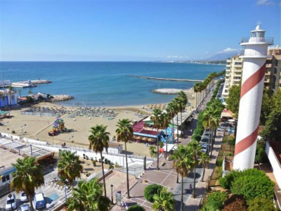 Marbella, Beachfront apartment for sale in downtown Marbella just 10 metres from the beach