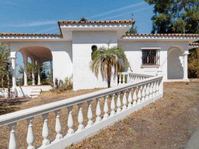 Marbella Golden Mile, Stylish Andalusian style villa for sale in the Marbella Golden Mile