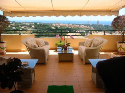 Marbella East, Stunning duplex penthouse apartment for sale in Elviria in Marbella east