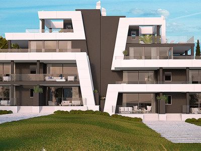 Marbella East, Contemporary off-plan apartments in Marbella close to pretty harbour and a quality golf course