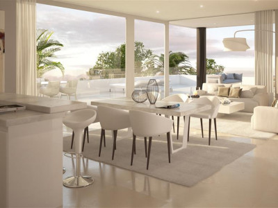 Marbella East, Contepmrorary off-plan apartments in Marbella close to pretty harbour and a quality golf course