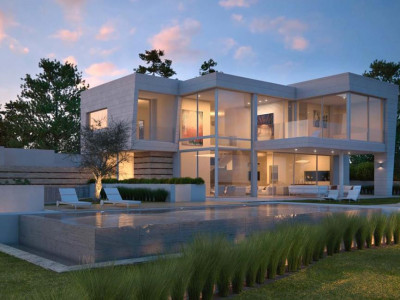 Marbella East, Modern villa in east Marbella set in an exlusive luxury new project