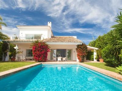 Nueva Andalucia, Beautiful Andalucian style villa in the Nueva Andalucia golf valley behind Puerto Banus