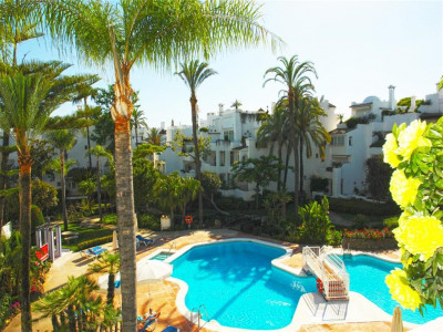 Marbella Golden Mile, Beachside penthouse apartment for sale in the Marbella Golden Mile