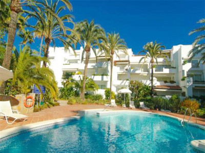 Marbella Golden Mile, Beachside duplex penthouse for sale in the Marbella Golden Mile