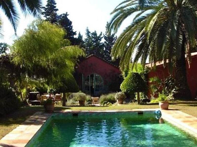 San Enrique de Guadiaro, Beautiful cortijo style home located close to the exclusive Sotogrande estate
