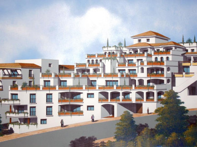 Benahavis, Complete apartment block for sale in Benahavis consisting of 23 separate apartments
