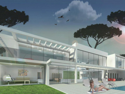 Marbella East, New under construction villa in Marbella east with exceptional qualities and sea views