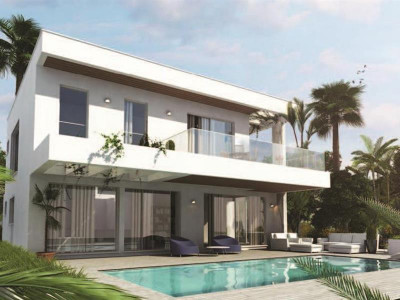 Mijas Costa, Unique opportunity to build your own villa in a luxury golf resort in Mijas Costa