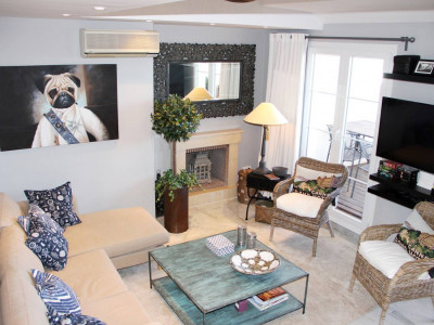Nueva Andalucia, Recently renovated spacious duplex penthouse in Nueva Andalucia, Marbella