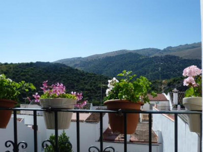 Benaojan, Architecturally designed Andalucian townhouse for sale in Benaojan in the Spanish countryside