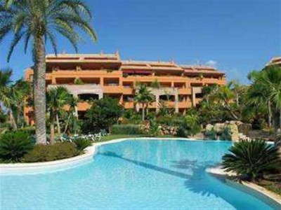 Marbella East, Lovely penthouse for sale in Bahia de Marbella a short drive from downtown Marbella