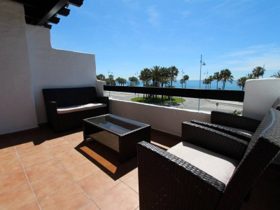 San Pedro de Alcantara, great 3 bedroom apartment in prestigious complex on San Pedro beach, Marbella