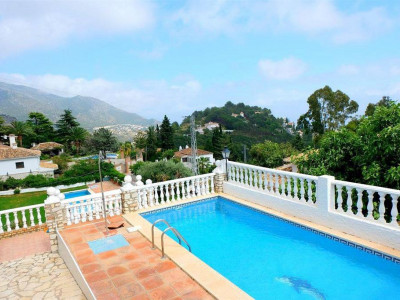Mijas, Stunning detached villa for sale in Mijas pueblo with stunning panoramic views