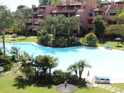 San Pedro de Alcantara, Quality beachside duplex penthouse for sale in Guadalmina Baja in San Pedro