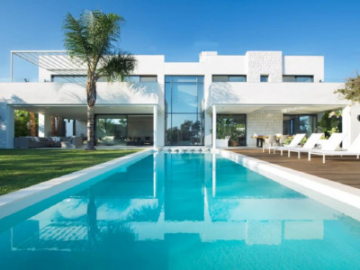 Marbella East, Just completed comtemporary villa for sale in Marbesa in Marbella East
