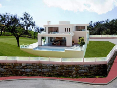 Marbella East, Brand new villa fors sale La Mairena in Marbella east set on a private plot