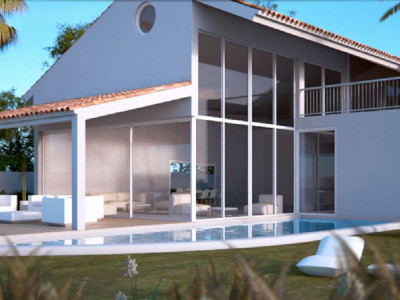 Benalmadena, Quality new five star villa for sale in Reserve del Higueron in Benalmadena