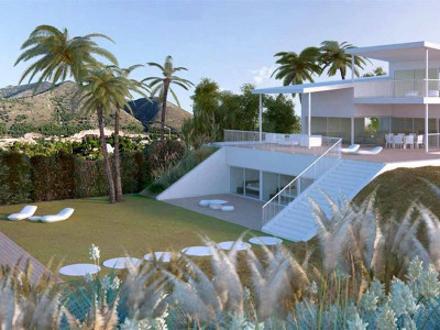 Benalmadena, Contemporary new five star villa for sale in Reserve del Higueron in Benalmadena