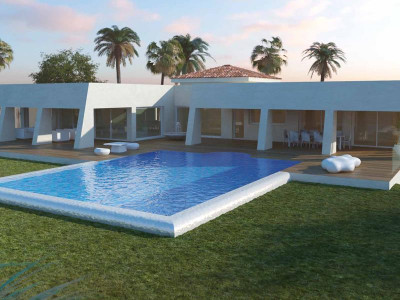 Benalmadena, Brand new villa for sale in Higueron Reserve in Benalmadena with stunning sea views