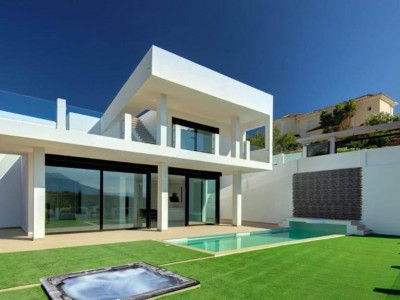 Marbella East, Outstanding contemporary off plan villa for sale in Marbella East