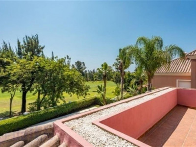 San Pedro de Alcantara, Quality front line golf villa for sale in Guadalmina Alta with stunning views to the golf course