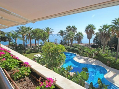 Marbella, Luxury frontline beach apartment for sale in downtown Marbella just metres from the beach