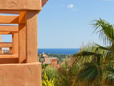 Marbella East, Frontline golf duplex apartment for sale in Elviria in Marbella with 100% finance available