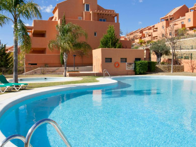 Marbella East, Quality frontline golf apartment for sale in Elviria in Marbella with 100% finance available