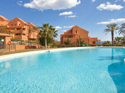 Marbella East, Frontline golf apartment for sale in Elviria in Marbella with 100% finance available