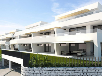 Nueva Andalucia, Brand new contemporary apartment for sale in Nueva Andalucia behind Puerto Banus