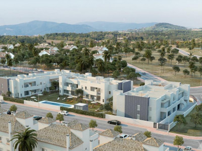 Nueva Andalucia, Quality new apartment for sale in a luxury complex in Nueva Andalucia near Puerto Banus