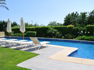 Marbella, Garden apartment for sale in one of the best locations in the Marbella Golden Mile