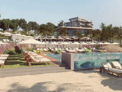 Mijas Costa, Off-plan front line beach development for sale in Mijas Costa with amazing sea views