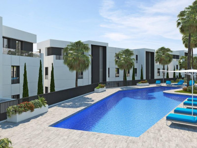 Marbella, Brand new contemporary apartment for sale in Nueva Andalucia behind Puerto Banus