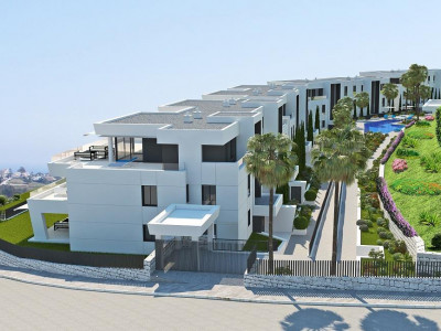 Nueva Andalucia, New contemporary apartment for sale in Nueva Andalucia just behind Puerto Banus