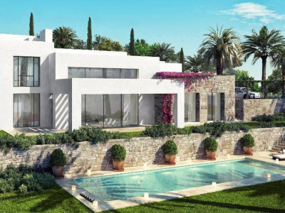 Casares, Brand new luxury front line golf villas for sale in a prestigious area in Casares