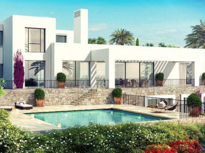 Casares, New luxury front line golf villas for sale in a prestigious development in Casares