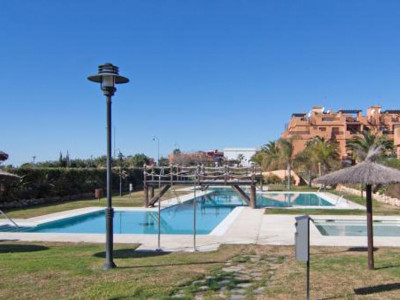 Estepona, Beachside duplex penthouse for sale in Estepona with stunning sea views