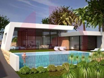 Sotogrande, Brand new contemporary villa for sale in the sought after area of sotogrande