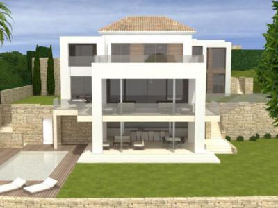 Estepona, Brand new villa for sale in El Paraiso in the New golden Mile in Estepona