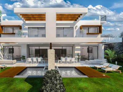 Estepona, Luxury contemporary semi detached villa for sale in Estepona in a privileged location