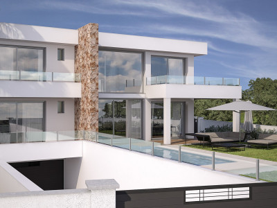 Mijas Costa, Off-plan opportunity villa in La Cala de Mijas within walking distance to the beach