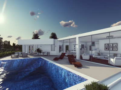 Mijas, BRAND NEW CONTEMPORARY VILLA PROJECT ENJOYING STUNNING SEA VIEWS