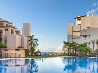 Estepona, Exlusive front line beach apartment for sale in the New Golden Mile in Estepona