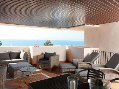 Estepona, Exclusive front line beach apartment for sale in the New Golden Mile in Estepona