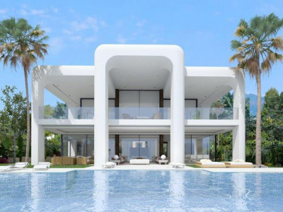 Benahavis, Plot for sale in Benahavis with a project for a 4 bedroom villa in place